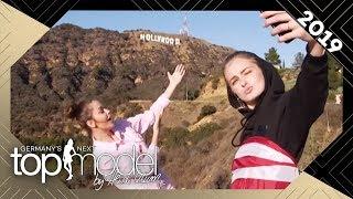 Enisa und Vanessa machen das perfekte Hollywood-Selfie | GNTM 2019 | ProSieben