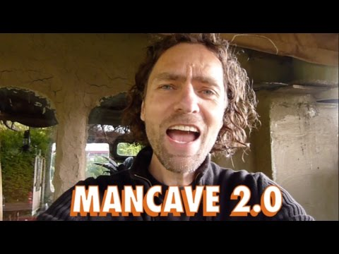 earthen MANCAVE 2.0 🏰 The ultimate COB tutorial for every man