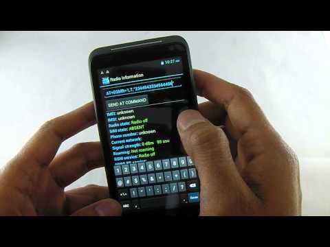 Change / Restore IMEI MTK6577 China Dual Sim Phone Engineer Mode