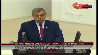 Mehmet Metanet Çulhaoğlu | Meclis Konuşması | 25 Temmuz 2018 | Sağlık Çalışanlarının Hakları