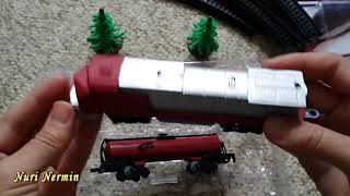 Железная дорога Mobicaro (на батарейках).
