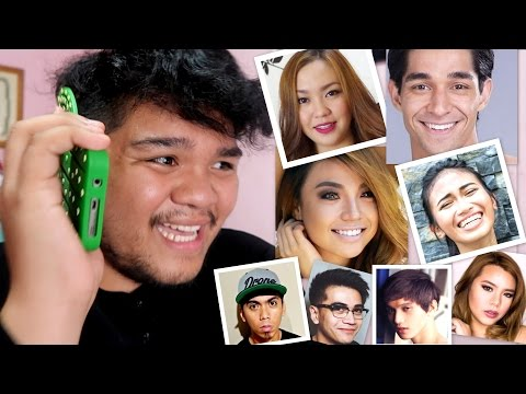 PRANK CALLING your Favorite YOUTUBERS (Feat. Wil Dasovich, Michelle Dy, Cong TV, Pamela, etc.)