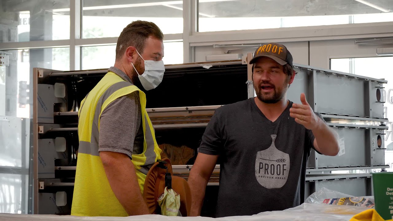 New Bakery Inspection and Construction Update | Proof Bread