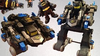 Transforming BatBot Remote Control (RC) Robot Toy- Imaginext Batman and DC Super Friends 2014