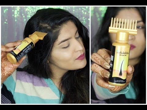 Indulekha Bringha Oil Selfie Bottle Review | Hair Oiling Solution?