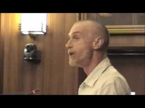 WERA Director John Whistler Presenting to Vancouver Council