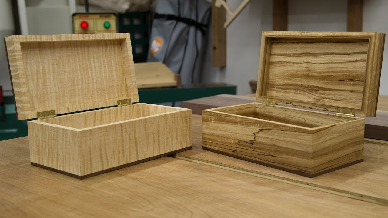 How To Make A Wooden Box 269 Youtube