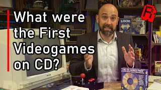 What were the first Video Games on CD? - The Tech & The Games