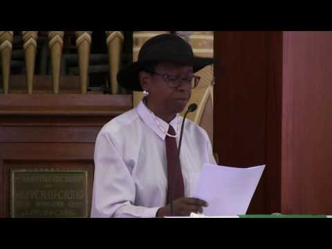FCC Sonoma CA Service - 'WE MARCH' by Veda L. Lewis