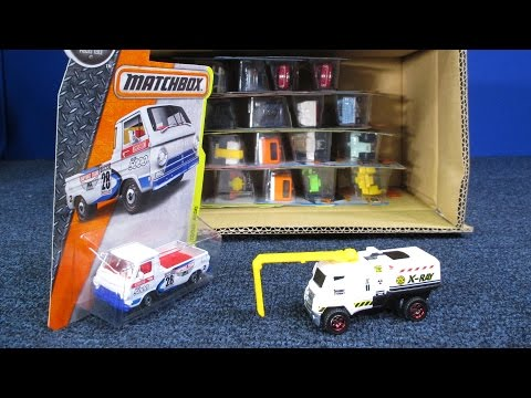 2016 J Matchbox Factory Sealed case unboxing By RaceGrooves