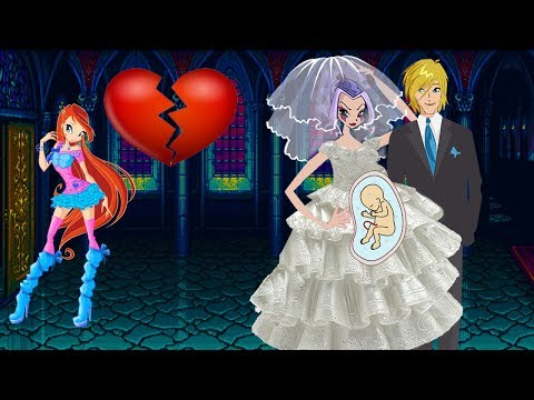 WINX CLUB Love Story Cartoon For Adults - Stormy's Fake Pregnancy