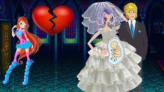 WINX CLUB love story fan animation cartoon - Stormy's Fake Pregnancy