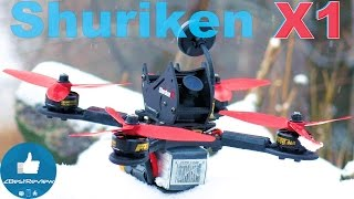 ✔ Подробный Обзор FPV Квадрокоптера Holybro Shuriken X1 200мм. Gearbest