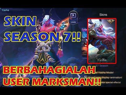 Ini Dia Skin Season 7!! Moskov Yasha - Full Skin Effect    Mobile Legends