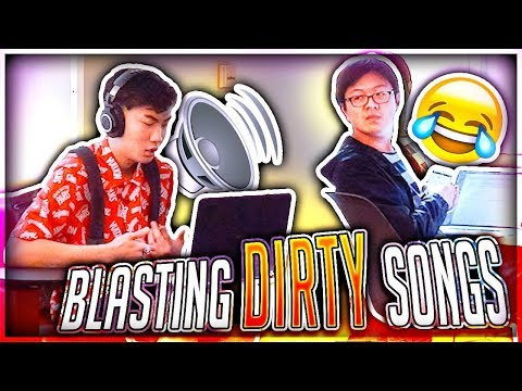 Blasting INAPPROPRIATE Songs in the Library PRANK (IN PUBLIC)