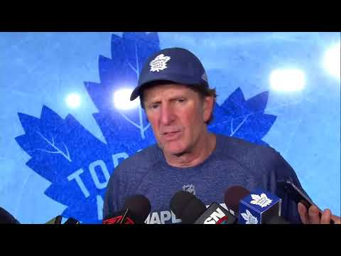 Maple Leafs Practice: Mike Babcock - January 5, 2018