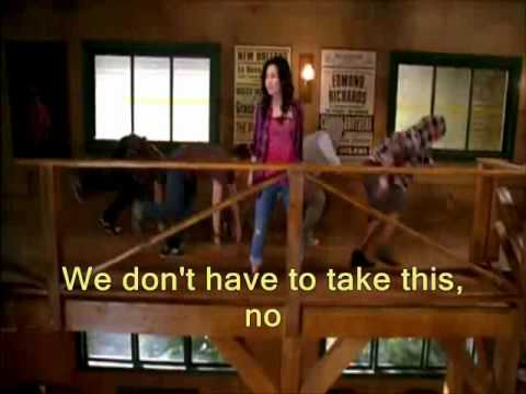 "**Camp Rock 2: The Final Jam ""Can't Back Down"" *with lyrics* REDO - FULL VIDEO"