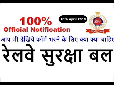 RPF Recruitment 2018 | Apply Online | Notification | Syllabus | Age Limit | Qualification | Vacancy