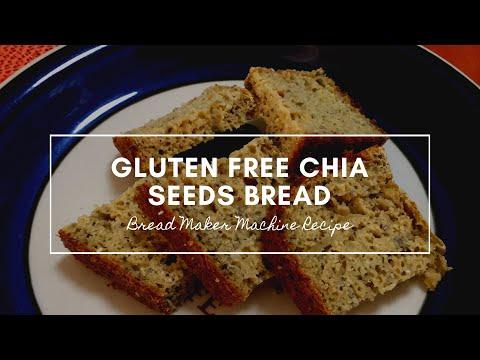 Gluten Free Chia Seed Bread Using Bread Maker Machine