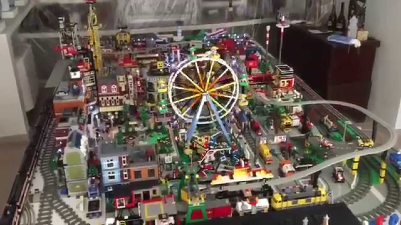 My Lego City Collection 1 2015 - YouTube