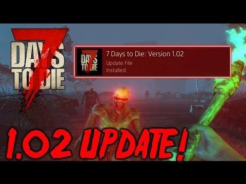 7 days to die ps4 xb1 new update bug crash for Cocinar en 7 days to die ps4