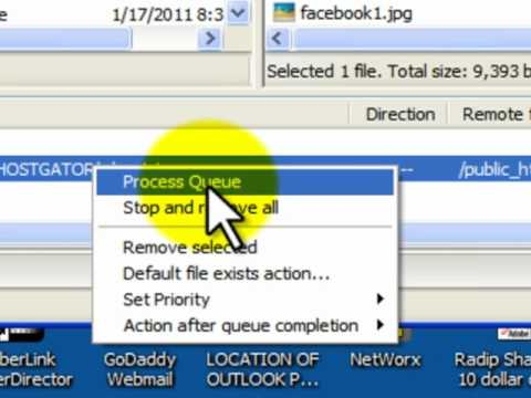 how to connect hostgator to filezilla