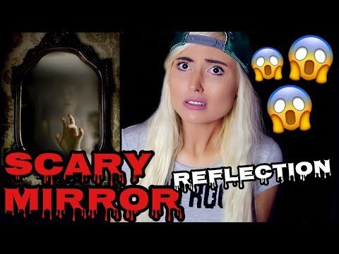 BEDROOM MIRROR | SCARY MIRROR REFLECTION STORY!