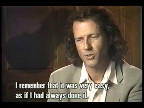 André Rieu Short Interview 1994