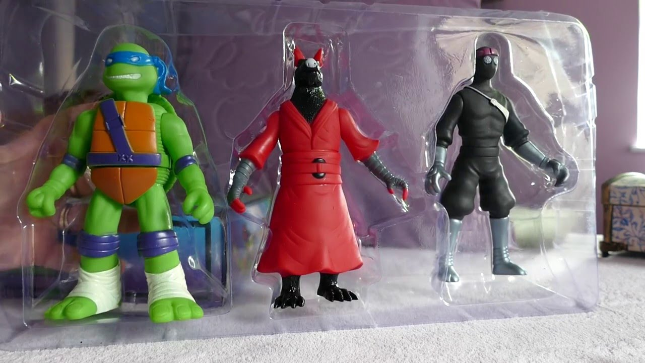 Fake Teenage Mutant Ninja Turtle Toys - comparing to ...