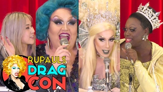 ALASKA, EUREKA & BOB the DRAG QUEEN w/ Sandra Song | The Politics of Drag from RuPaul's DragCon 2017