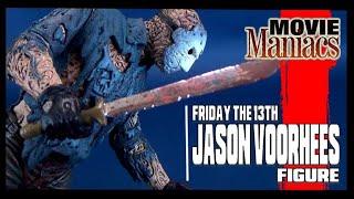 Throwback   McFarlane Toys Movie Maniacs Series 1 Jason Voorhees Figure and UNMASKING!