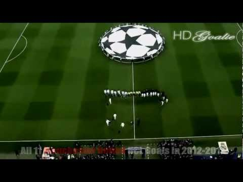 Manchester Utd FC | 2012-13 UCL- All 11 Goals [HD]