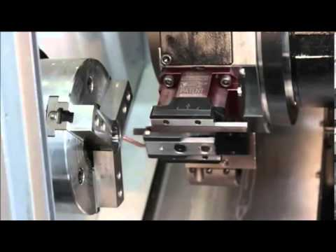 Broaching/Slotting Tool in Action on a Lathe