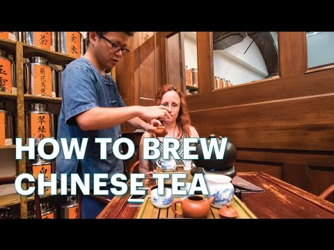 HOW TO BREW CHINESE TEA