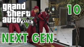 GTA 5 Next Gen Walkthrough Part 10 - PS4/ XBOX ONE - Jewellery Heist! - Grand Theft Auto V