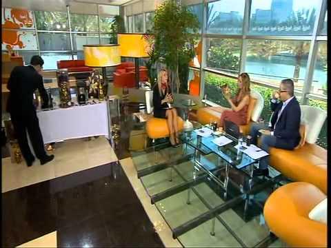 Samira Maatouk at Sabah Al Arabia TV Program