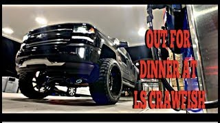 """OUT FOR DINNER/9"""" LIFTED SILVERADO Z71"""