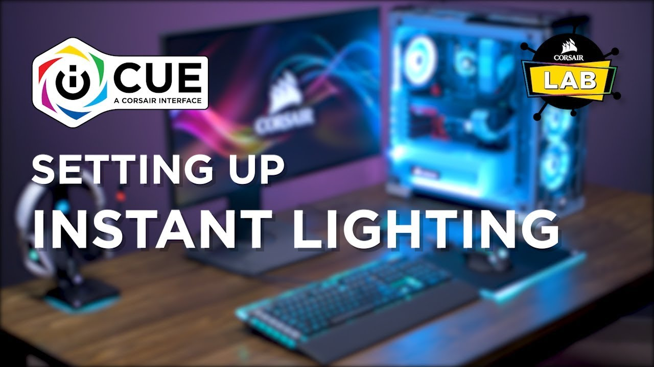 How To Set Up Instant Lighting in CORSAIR iCUE