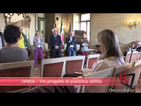 Ufficio Collocamento Ivrea : Ivrea tre progetti di pubblica utilità youtube