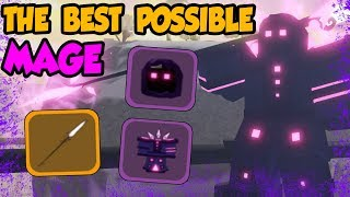 THE *BEST POSSIBLE* MAGE LOADOUT! Samurai Palace Update! ✨- Roblox Dungeon Quest