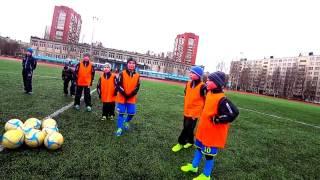 """Футбол 26 марта: """"2 касания гол"""" = младшие (ИГРА С ОГРАНИЧЕНИЯМИ)"""