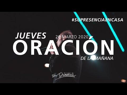 🔴 EN VIVO · Oración De La Mañana (Música Cristiana) - 26 Marzo 2020 - Andrés Corson   Su Presencia