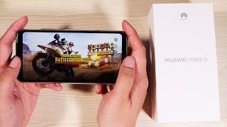 Huawei Nova 3i Unboxing and Hands On - Pubg, Camera, Battery