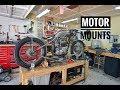 Triumph Hardtail: Custom motor mounts