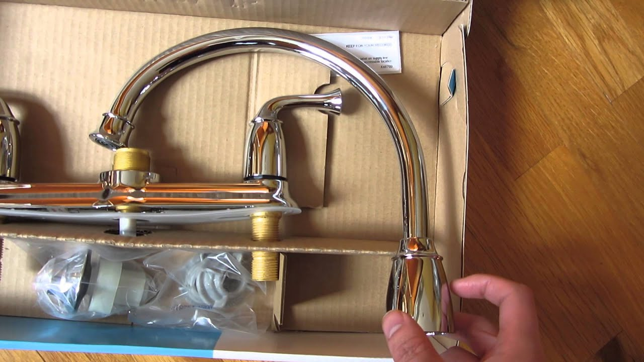 Perfect Moen Banbury Kitchen Faucet Unboxing (CA87553)   YouTube