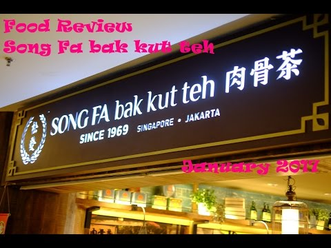 SONG FA bak kut teh Jakarta | REVIEW | Food VLOG