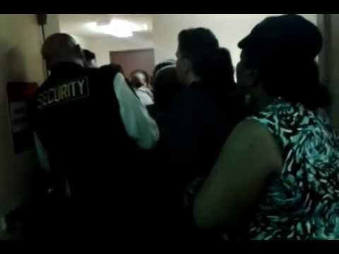 Elderly Woman (65) being choked-out by Bingo Manager - YouTube