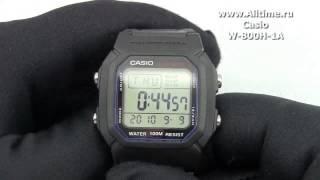 Мужские японские наручные часы Casio W-800H-1A(Подробное описание: http://www.alltime.ru/catalog/watch/374/casio/Man/9184/detail.php?ID=58303&back=list., 2013-04-12T10:50:06.000Z)