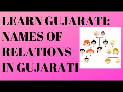 Relations in Gujarati
