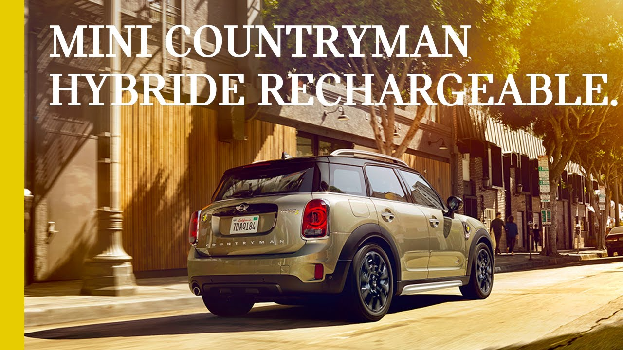 Mini Countryman Hybride Rechargeable Transmission Intégrale E All4